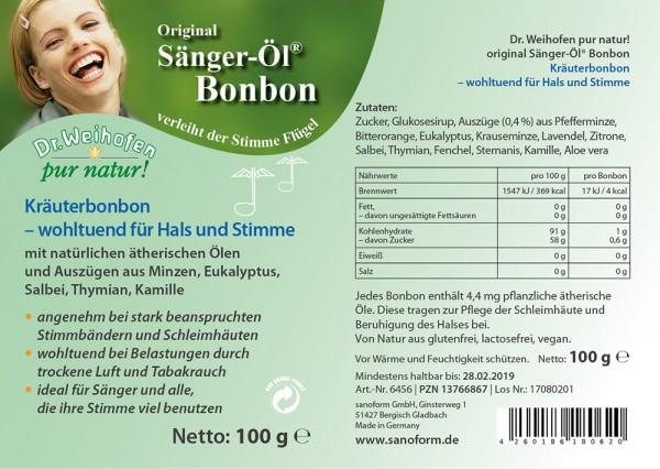 Sänger-Öl Bonbon ca. 100 Stück = 100 g
